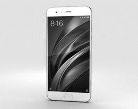 3D model Xiaomi Mi 6 White