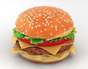 Burger bistro 3D model