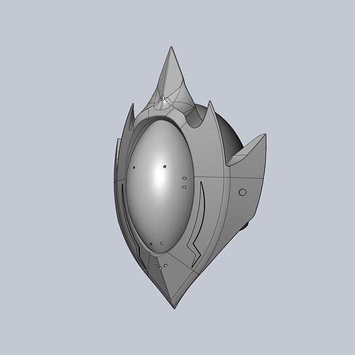 code geass zero mask printable model 3d model obj mtl dxf stl dae sldprt sldasm slddrw ige igs iges 1