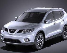Nissan X-Trail 2016 VRAY 3D model