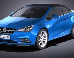 Opel Cascada 2017 VRAY 3D model