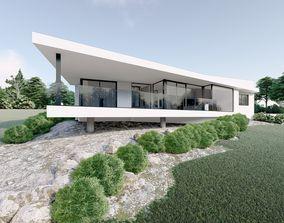 Modern House - 3D model