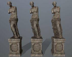 Venus de Milo 3D model game-ready