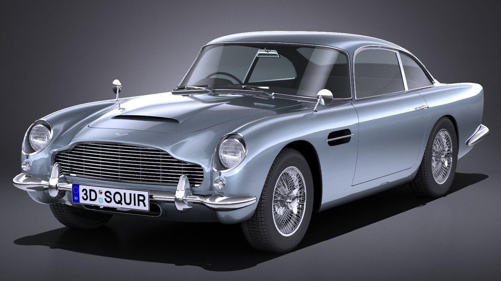 LowPoly Aston Martin DB5 1963