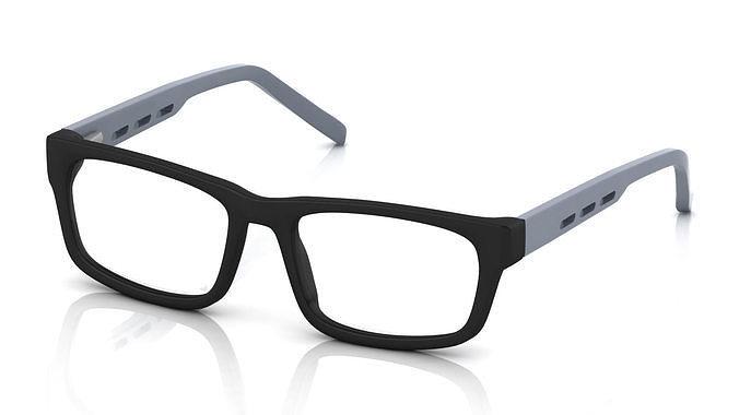ce3c8f8bebb 3D printable model Eyeglass for Men fashion-accessory
