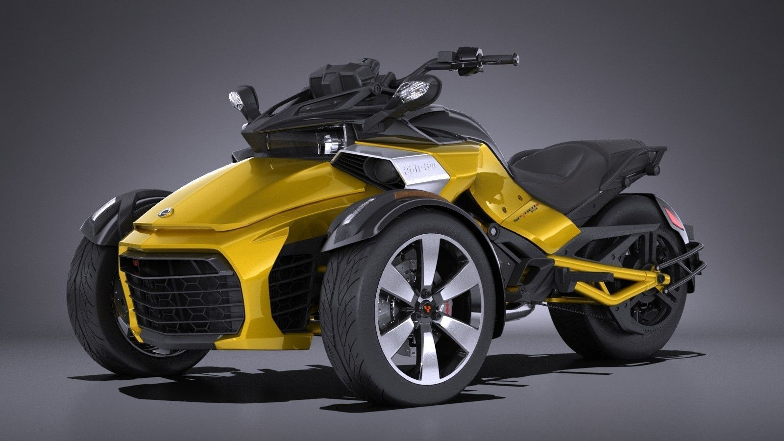 CAN-AM/ BRP Spyder ST Limited specs - 2012, 2013