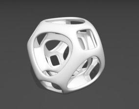 Mathematical art 3D print model modern