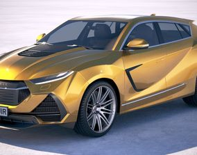 Generic Sport SUV Coupe 2019 3D model