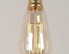 Edison light bulb 3D model