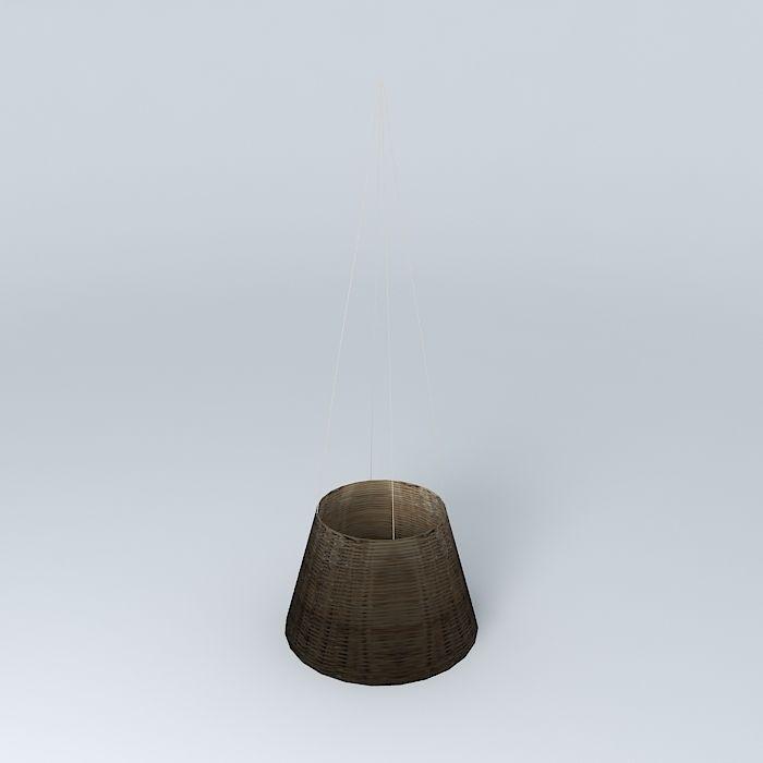 Suspension Osier houses the world 3D Model MAX OBJ 3DS FBX ...