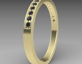 round Eternity ring 3D print model