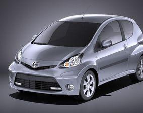 Toyota Aygo 3doors 2014 VRAY