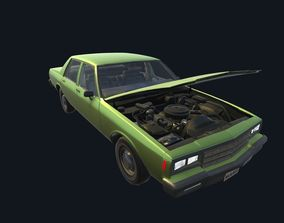3D asset Game Ready Real Car 4