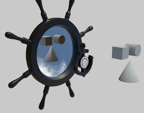 3D model VR / AR ready Mirror