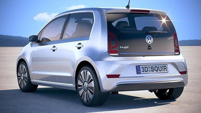 Volkswagen E Up 2019 3d Model Cgtrader