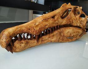 Spinosaurus Dinosaur Skull 3D print model