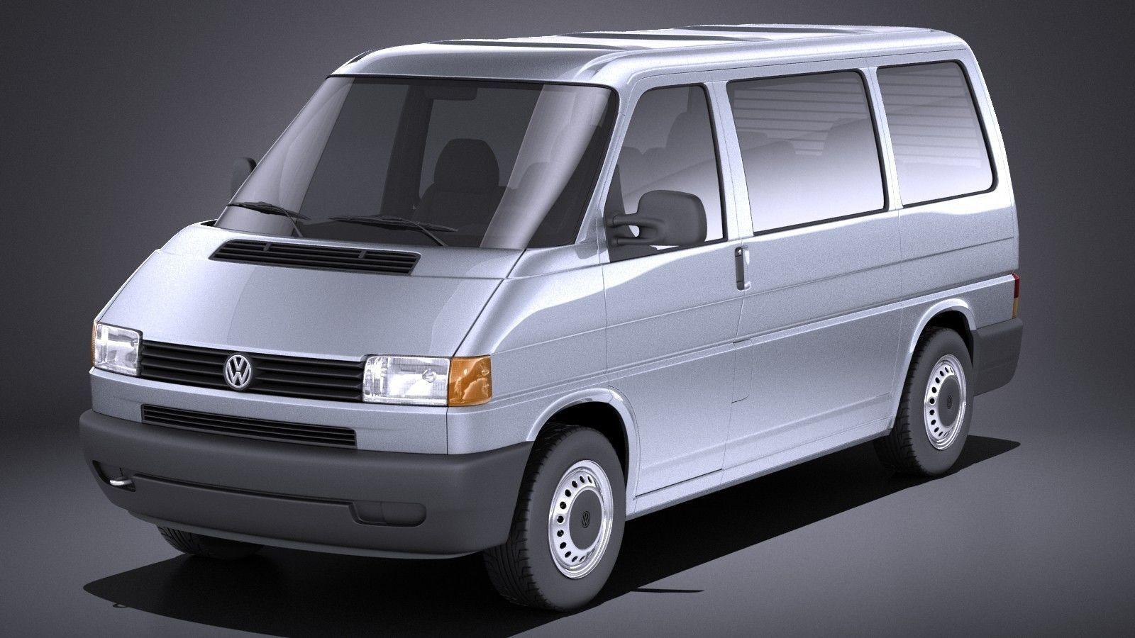 Volkswagen T4 Multivan Eurovan 1990-2003 VRAY | 3D model