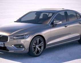 sedan Volvo S60 2019 3D model