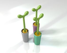 Italy Alessi toilet brush 3D model