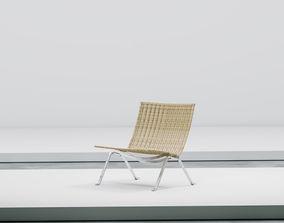 PK 22 rattan armchair 3D