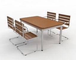 3D model Outdoor Furniture-4