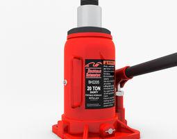 3D Hydraulic Bottle Jack