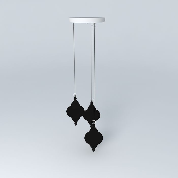 Suspension Djerba Maisons du monde | 3D model