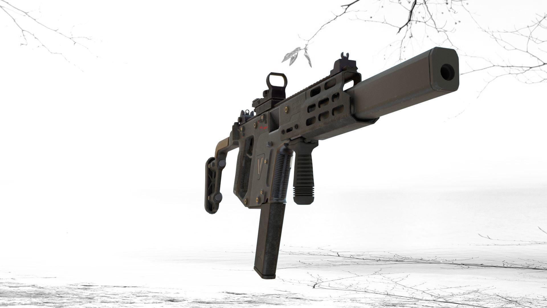 Kriss Vector 45 ACP | 3D model