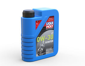 3D Oil canister
