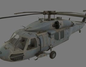 3D asset UH-60 Black Hawk