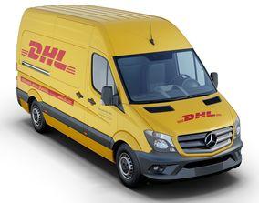 Mercedes-Benz Sprinter DHL 3D