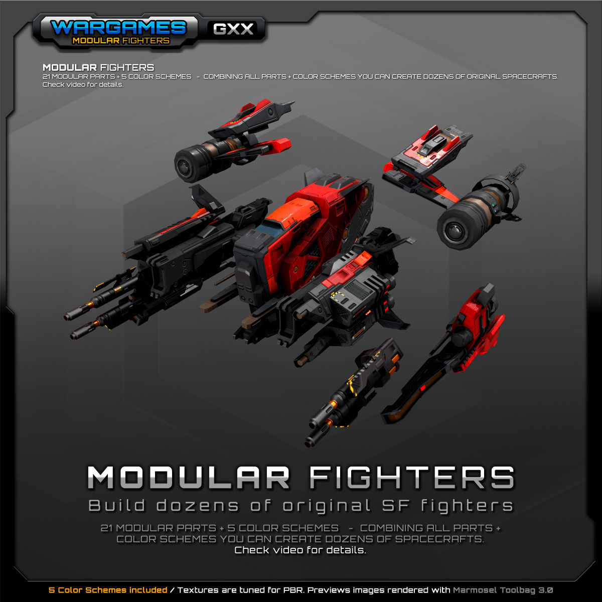 MODULAR SF Fighters GXX