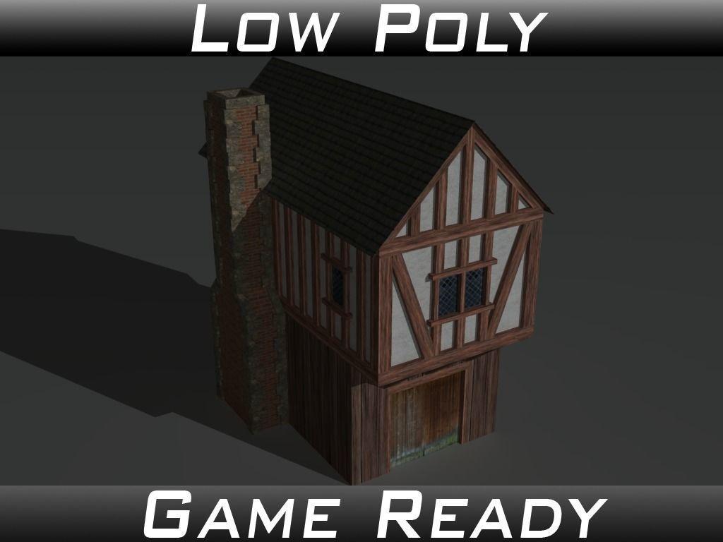 Medieval Building 01