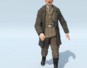 3D asset FREE Hitler - in Military Uniform