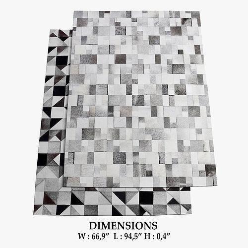 brilliant and gallery rugs 194 3d model max obj mtl fbx 1