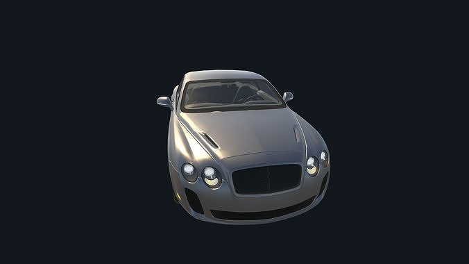 game ready real car 5 3d model low-poly max obj mtl fbx ma mb unitypackage prefab mat 1