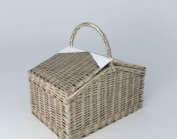 3D PICNIC BASKET NINON houses the world
