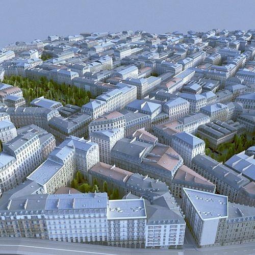 city block 04 3d model max obj mtl fbx tga 1