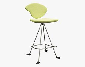3D asset Realistic Chair 017