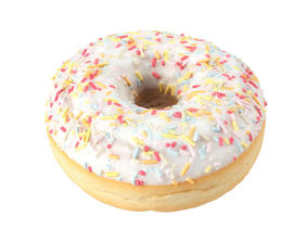 Photorealistic Sprinkled Donut 3D Scan 1