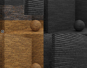 3D Material seamless - Bricks - Tiles
