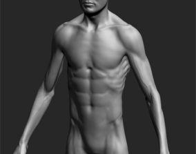 highpoly 3D Male Basemesh ZBRUSH 04