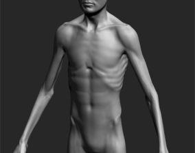 Male Basemesh ZBRUSH 02 3D zbrush
