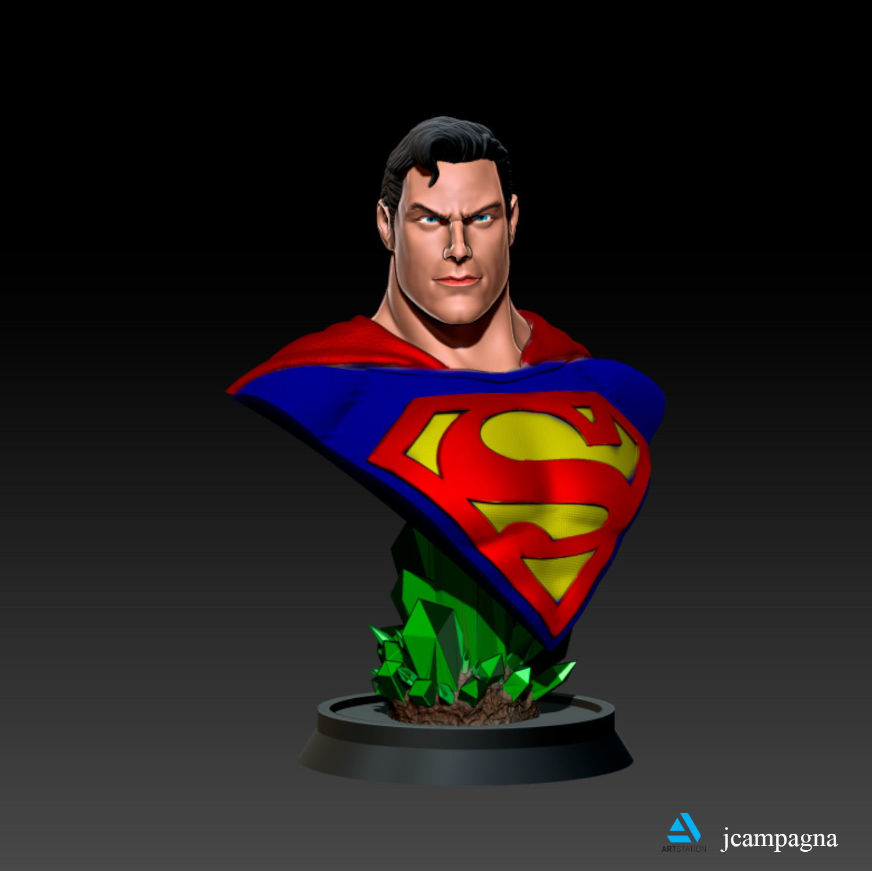 Superman Bust - Alex Ross
