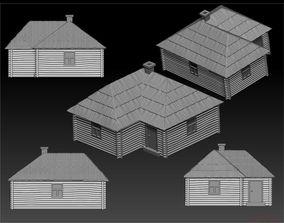 3D printable model Peasant hut