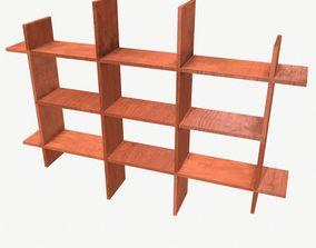 3D model Shelf Type 3 Low Poly