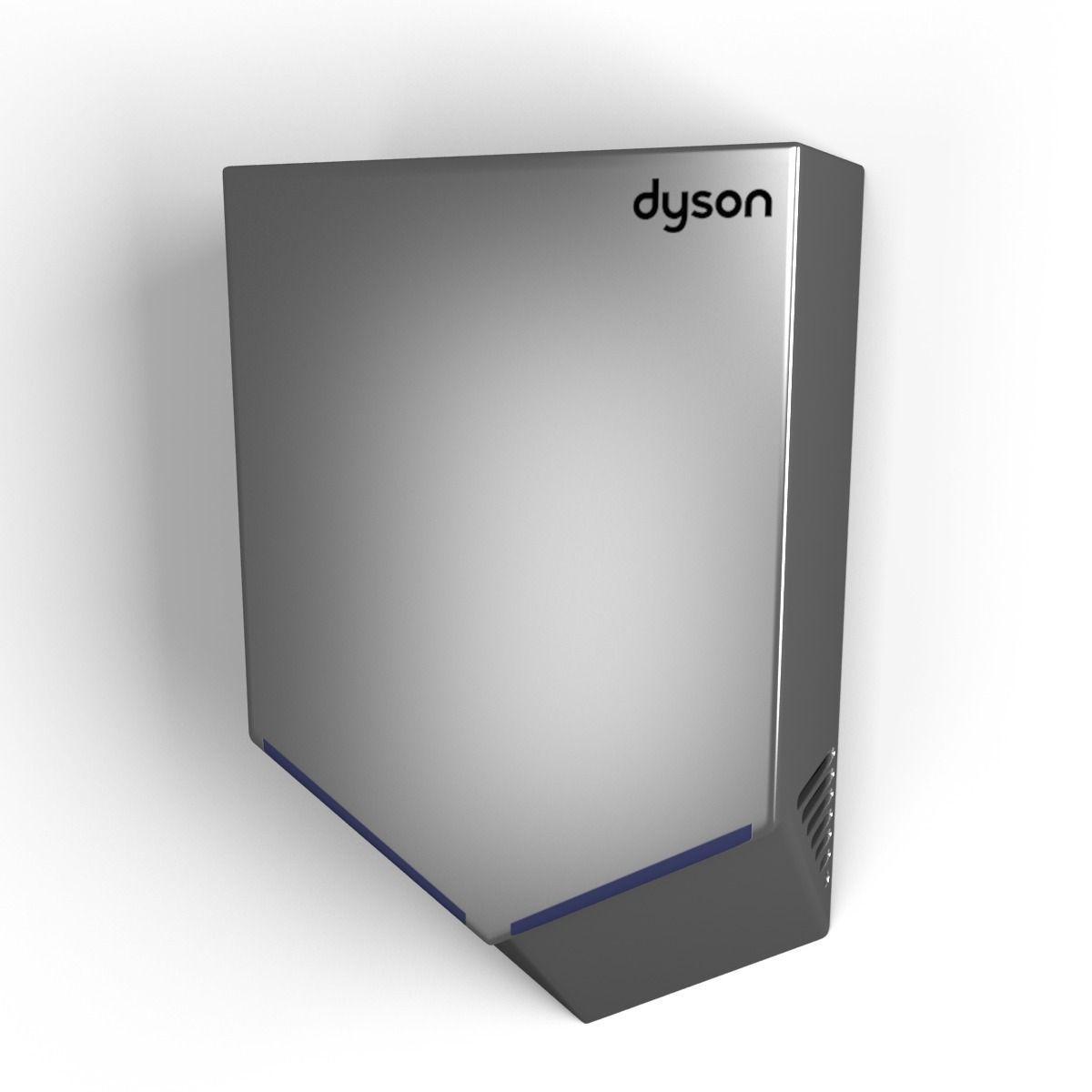 dyson airblade v 3d model max obj 3ds fbx mtl. Black Bedroom Furniture Sets. Home Design Ideas