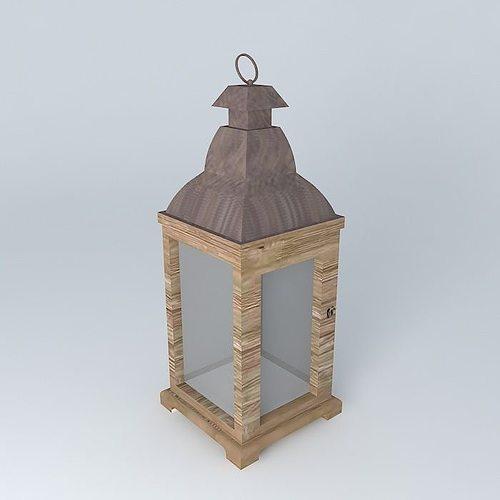 Maison Du Monde Lanterne.Adele Lantern Maisons Du Monde 3d Model Cgtrader