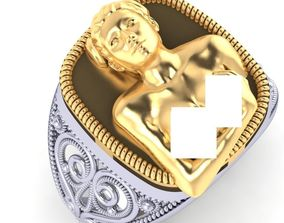 3D print model Beautiful Nude Female Ring