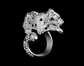 pouceta 3D printable model ring female